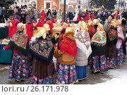 Купить «Масленица, Ярославль 2017», фото № 26171978, снято 19 июня 2019 г. (c) Сергей Гаврилов / Фотобанк Лори