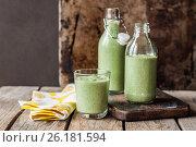 Chilled Cucumber Soup. Стоковое фото, фотограф Татьяна Ворона / Фотобанк Лори