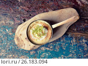 Купить «Ofenschlupfer, German traditional dessert, toned», фото № 26183094, снято 6 июля 2016 г. (c) Федор Кондратенко / Фотобанк Лори