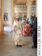 Африканский Православный игуме Епископ Бурунди (2017 год). Редакционное фото, фотограф Михаил Дериглазов / Фотобанк Лори