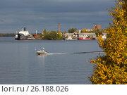 Северная Двина. Редакционное фото, фотограф Иван Малыгин / Фотобанк Лори