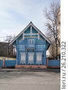 Купить «Москва, Погодинская улица, дом 12а», эксклюзивное фото № 26210322, снято 29 апреля 2017 г. (c) Dmitry29 / Фотобанк Лори