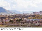 Город Спитак. Армения. (2017 год). Стоковое фото, фотограф Сергей Афанасьев / Фотобанк Лори