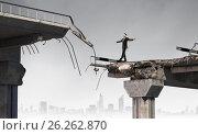 Купить «Overcoming problems and difficulties», фото № 26262870, снято 17 декабря 2018 г. (c) Sergey Nivens / Фотобанк Лори