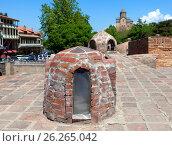 Тбилисские серные бани , Грузия (2017 год). Стоковое фото, фотограф Сергей Афанасьев / Фотобанк Лори
