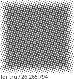 Abstract background with half tone effect, vector illustration. Стоковая иллюстрация, иллюстратор Купченко Евгений / Фотобанк Лори