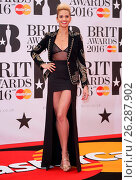 Купить «The Brit Awards 2016 (Brits) held at the O2 - Arrivals Featuring: Alesha Dixon Where: London, United Kingdom When: 24 Feb 2016 Credit: Lia Toby/WENN.com», фото № 26287902, снято 24 февраля 2016 г. (c) age Fotostock / Фотобанк Лори