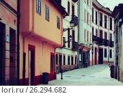 Купить «street at historical part of Oviedo», фото № 26294682, снято 22 июля 2019 г. (c) Яков Филимонов / Фотобанк Лори