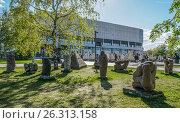 Купить «Музеон. Парк искусств», эксклюзивное фото № 26313158, снято 14 мая 2017 г. (c) Виктор Тараканов / Фотобанк Лори