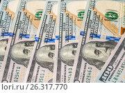 Купить «Money background from dollars usa», фото № 26317770, снято 6 мая 2017 г. (c) Валерий Бочкарев / Фотобанк Лори
