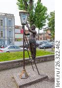 Купить «Памятник Лампионщику (Фонарщику). Тбилиси. Грузия.», фото № 26322462, снято 4 мая 2017 г. (c) Сергей Афанасьев / Фотобанк Лори