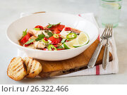 Tomato and Coconut Milk Fish Stew. Стоковое фото, фотограф Татьяна Ворона / Фотобанк Лори