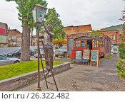 Купить «Памятник Лампионщику (Фонарщику). Тбилиси. Грузия», фото № 26322482, снято 4 мая 2017 г. (c) Сергей Афанасьев / Фотобанк Лори