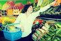 Mature woman buying fresh vegetables, фото № 26340858, снято 10 марта 2017 г. (c) Яков Филимонов / Фотобанк Лори