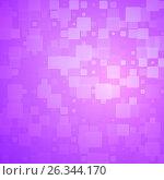 Купить «Purple pink glowing rounded tiles background», иллюстрация № 26344170 (c) TasiPas / Фотобанк Лори
