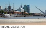 Region Puerto Madero in Buenos Aires, фото № 26353790, снято 27 января 2017 г. (c) Яков Филимонов / Фотобанк Лори