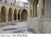 Divan-hana in Shirvanshahs palace. Icheri sheher (Old Town) of Baku (2017 год). Стоковое фото, фотограф Аркадий Захаров / Фотобанк Лори