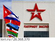 Army symbols and banners (2016 год). Редакционное фото, фотограф Владимир Приземлин / Фотобанк Лори