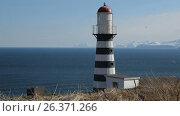 Купить «Петропавловский маяк. Камчатка», видеоролик № 26371266, снято 21 мая 2017 г. (c) А. А. Пирагис / Фотобанк Лори