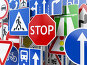 Stop. Traffic road signs on the sky background., фото № 26377706, снято 27 мая 2017 г. (c) Maksym Yemelyanov / Фотобанк Лори