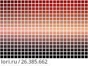 Купить «Красный оранжевый фиолетовый абстрактные округлой мозаики фон на белом. Red orange purple abstract rounded mosaic background over white», иллюстрация № 26385662 (c) TasiPas / Фотобанк Лори