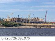 Купить «Construction site», фото № 26386970, снято 8 сентября 2016 г. (c) Денис Дряшкин / Фотобанк Лори
