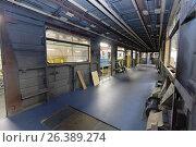 Oktyabrsky electric railway car repair plant, фото № 26389274, снято 25 августа 2016 г. (c) Лиляна Виноградова / Фотобанк Лори