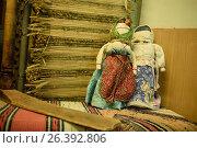 Купить «Vintage hand made dolls», фото № 26392806, снято 7 февраля 2017 г. (c) Марина Евдокимова / Фотобанк Лори