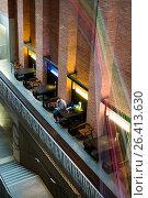 Купить «UK, Northern Ireland, Belfast, MAC, Metropolitan Arts Centre, interior.», фото № 26413630, снято 7 мая 2016 г. (c) age Fotostock / Фотобанк Лори