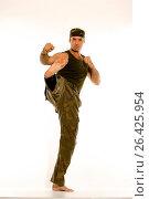 Купить «Martial artist, Germany», фото № 26425954, снято 20 февраля 2020 г. (c) age Fotostock / Фотобанк Лори