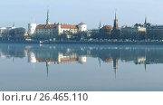 Купить «Riga Old Town Skyline», видеоролик № 26465110, снято 5 июня 2017 г. (c) Ints VIkmanis / Фотобанк Лори