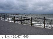 Променад у Балтийского моря в городе Зеленоградске (2017 год). Стоковое фото, фотограф Иван Орехов / Фотобанк Лори