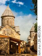 Купить «Монастырь Агарцин. Армения.», фото № 26483006, снято 14 мая 2017 г. (c) Эдуард Паравян / Фотобанк Лори