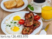 Завтрак. Стоковое фото, фотограф Александр Палехов / Фотобанк Лори