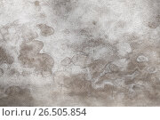 Gray concrete wall with wet spots pattern. Стоковое фото, фотограф EugeneSergeev / Фотобанк Лори