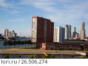 Купить «Нидерланды. Роттердам», эксклюзивное фото № 26506274, снято 31 мая 2017 г. (c) Михаил Ворожцов / Фотобанк Лори