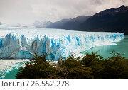 Купить «Glacier Perito Moreno, southeast of Argentina», фото № 26552278, снято 2 февраля 2017 г. (c) Яков Филимонов / Фотобанк Лори