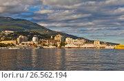 Купить «Ялта. Крым.», фото № 26562194, снято 1 сентября 2016 г. (c) Сергей Афанасьев / Фотобанк Лори