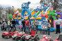 Кронштадт,  детский батут на площади в праздник, эксклюзивное фото № 26564910, снято 20 мая 2017 г. (c) Дмитрий Неумоин / Фотобанк Лори