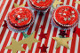 Decorated cupcakes with 4th july theme, фото № 26577002, снято 10 февраля 2017 г. (c) Wavebreak Media / Фотобанк Лори