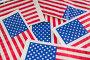Full frame of American flags, фото № 26577050, снято 10 февраля 2017 г. (c) Wavebreak Media / Фотобанк Лори