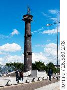 Купить «Башня-маяк в парке 300-летия Санкт-Петербурга», эксклюзивное фото № 26580278, снято 25 июня 2017 г. (c) Александр Щепин / Фотобанк Лори