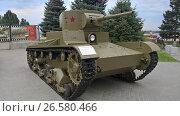 Легкий танк Т-26.Образца 1933 года.Волгоград., фото № 26580466, снято 7 августа 2016 г. (c) Кургузкин Константин / Фотобанк Лори