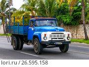 Купить «ZiL 130», фото № 26595158, снято 6 июня 2017 г. (c) Art Konovalov / Фотобанк Лори