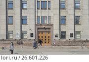 Администрация Иркутской области в Иркутске, ул. Ленина, 1а, фото № 26601226, снято 27 марта 2017 г. (c) Геннадий Соловьев / Фотобанк Лори