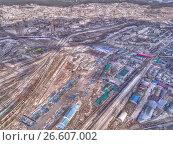 Панорама Читы, HDR, фото № 26607002, снято 7 мая 2017 г. (c) Геннадий Соловьев / Фотобанк Лори