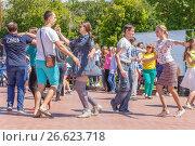 Купить «Уличные танцы. Самара, набережная», фото № 26623718, снято 12 июня 2017 г. (c) Акиньшин Владимир / Фотобанк Лори