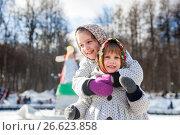 Купить «Smiling children in russian traditional clothes», фото № 26623858, снято 13 марта 2016 г. (c) Дарья Филимонова / Фотобанк Лори