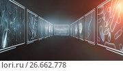 Купить «Composite 3d image of different interface», иллюстрация № 26662778 (c) Wavebreak Media / Фотобанк Лори