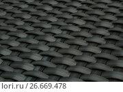 Купить «wicker gray texture as background», фото № 26669478, снято 15 декабря 2012 г. (c) Tatjana Romanova / Фотобанк Лори